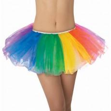 Rainbow Tutu Adult Costume Adult Size