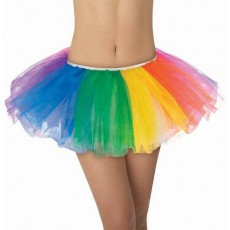 Rainbow Tutu Adult Costume
