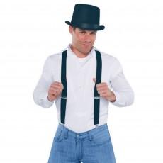 Black Suspenders Costume Accessorie