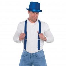 Blue Suspenders Costume Accessorie