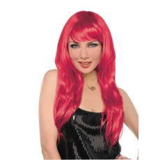 Hollywood Red Glamorous Wig Head Accessorie