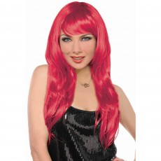 Red Glamorous Wig Head Accessorie