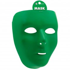 Green Full Face Mask Head Accessorie