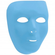 State of Origin Party Supplies - Full Face Mask Light Blue