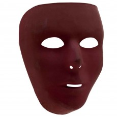 State of Origin Party Supplies - Full Face Mask Burgundy