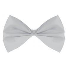 Silver Bowtie Costume Accessorie