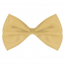 Gold Bowtie Costume Accessorie