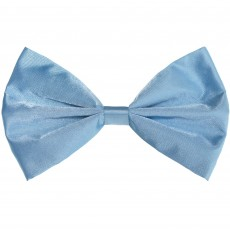 State of Origin Light Blue Bowtie Costume Accessorie