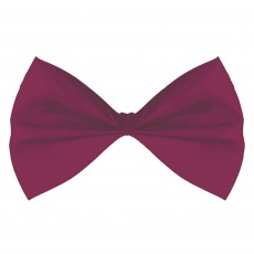 State of Origin Burgundy Bowtie Costume Accessorie