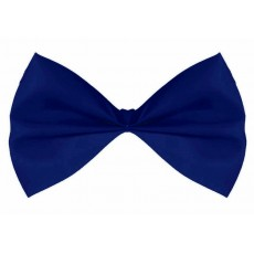 Blue Navy Bowtie Costume Accessorie