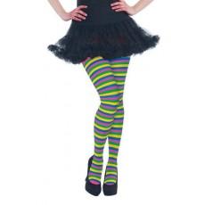 Rainbow Striped Tights Costume Accessorie