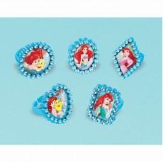 The Little Mermaid Ariel Dream Big Jewel Rings Favours Pack of 18