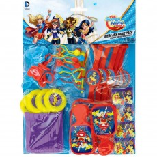Super Hero Girls Party Supplies - Favours Mega Mix