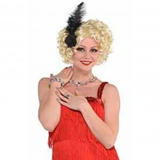 Roaring 20's Crystal Necklace, Bracelet & Ring Jewelry Set Costume Accessorie