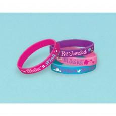 Shimmer & Shine Rubber Bracelets Favours Pack of 6