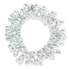 Silver Party Supplies - Bead Bracelet