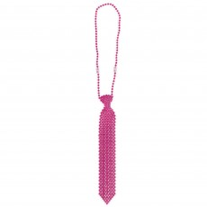 Pink Tie Necklace Jewellery