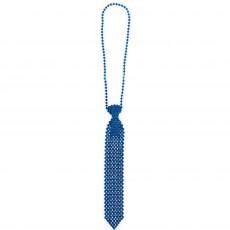 Blue Party Supplies - Tie Necklace