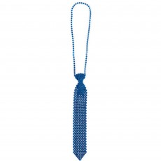 Blue Tie Necklace Jewellery