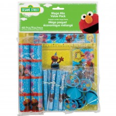 Sesame Street Mega Mix Value Favours