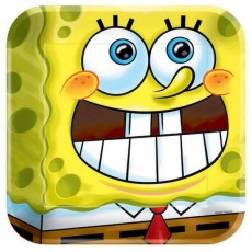 SpongeBob Squarepants Dinner Plates