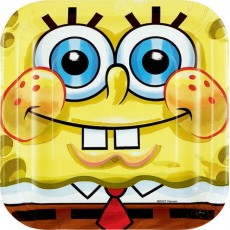 SpongeBob Paper Lunch Plates