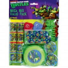 Teenage Mutant Ninja Turtles Mega Mix Favours Pack of 48