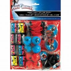 Power Rangers Party Supplies - Favours Ninja Steel Mega Mix