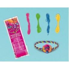 Trolls Friendship Bracelet Favours Pack of 12