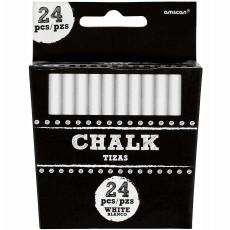 Chalkboard Party Supplies - White Chalk Sticks