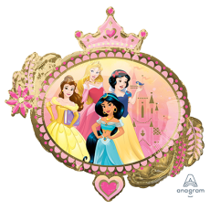 Disney Princess Once Upon A Time SuperShape XL Shaped Balloon 86cm x 81cm