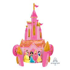 Disney Princess Castle Airwalker Foil Balloon 88cm x 139cm