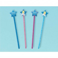 Cinderella Princess Wands Favours