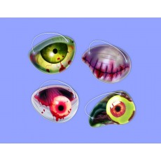 Halloween Zombie Paper Eye Patch Favours