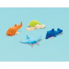 Favours Party Supplies - Sea Animals Erasers