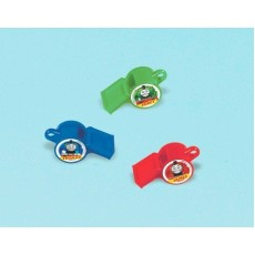 Thomas & Friends All Aboard Whistle Favours 7.5cm Pack of 12