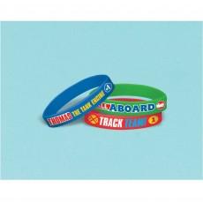 Thomas & Friends All Aboard Rubber Bracelet Favours Pack of 6