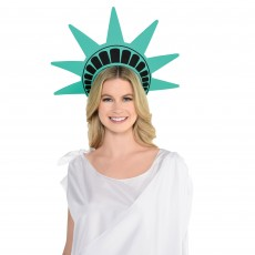 USA Lady Liberty Statue Foam Crown Head Accessorie