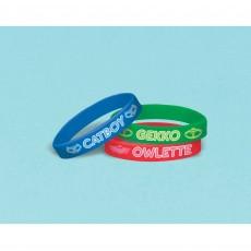 PJ Masks Rubber Bracelet Favours