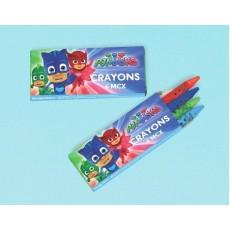 PJ Masks Crayon Favours Pack of 12