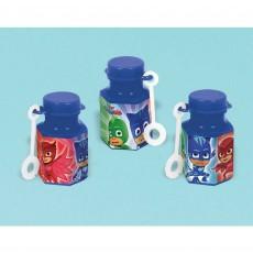 PJ Masks Mini Bubbles 18ml Pack of 12