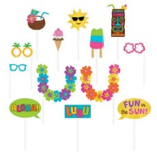 Hawaiian Luau Summer Luau Photo Props