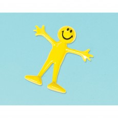 Emoji Party Supplies - Favours Smiley Bendable Dude