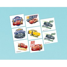 Disney Cars 3 Tattoo Favours
