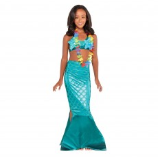 Mermaid Wishes Teal Mermaid Kit Child Costume