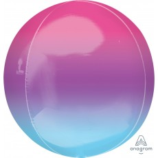 Blue Pink, Purple &  Shaped Balloon
