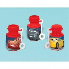 Disney Cars 3 Mini Bubbles 18ml Pack of 12