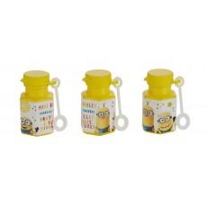 Minions Despicable Me Mini Bubbles Pack of 12