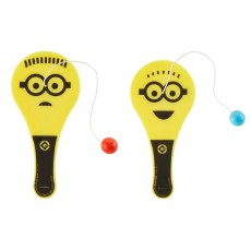 Minions Despicable Me Paddle Ball Favours Pack of 12