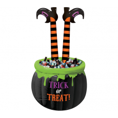 Halloween Party Supplies - Coolers - Witch Legs Inflatable